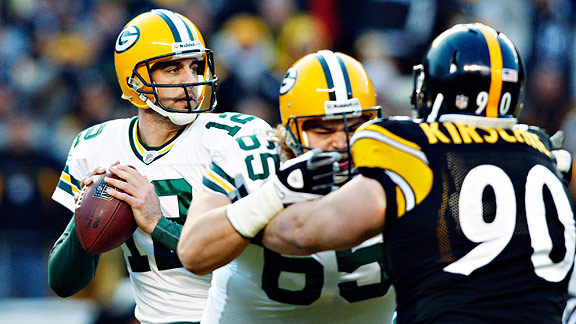 Rodgers vs Steelers