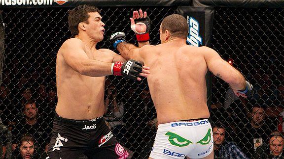 Lyoto Machida and Mauricio Rua