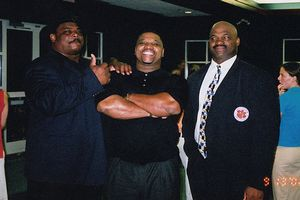 William Perry with brothers Daryl and Michael Dean