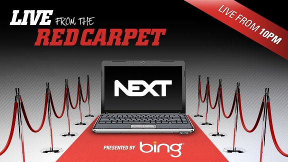 NEXT red carpet event