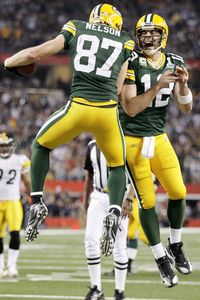 Jordy Nelson, Aaron Rodgers