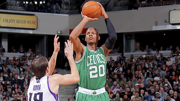 Ray Allen needs three