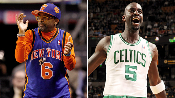 Spike Lee says Kevin Garnett was cursing him out the last time the Knicks and Celtics met.