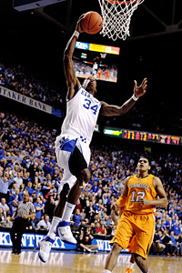 Kentucky's DeAndre Liggins