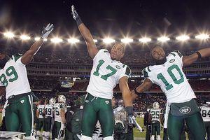 Jets celebrate