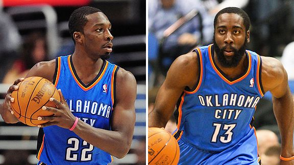 Jeff Green and James Harden