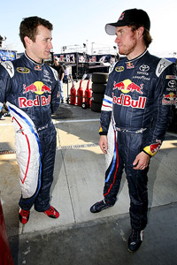 Kasey Kahne and Brain Vickers