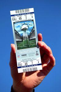 Super Bowl Ticket