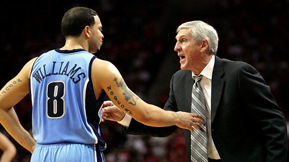 Jerry Sloan & Deron Williams