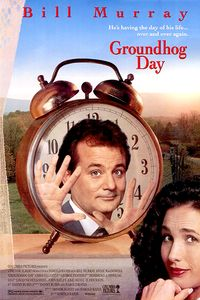 Ground Hog Day movie poster