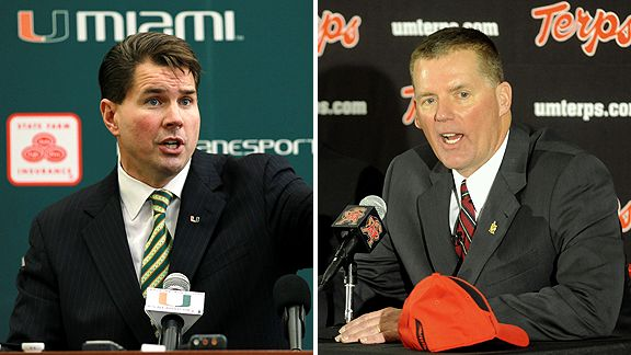 Al Golden and Randy Edsall