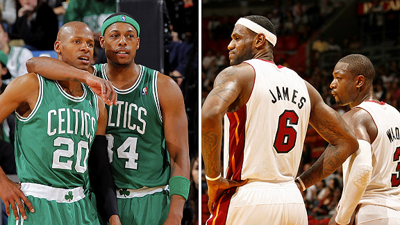 Heat Vs. Celtics: A Contrast Of Wings
