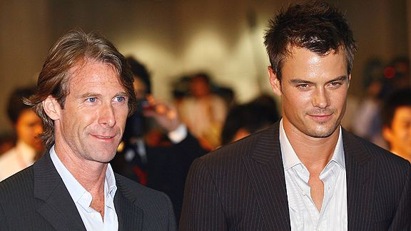 Michael Bay and Josh Duhamel