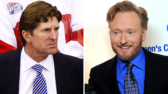 Mike Babcock/Conan O'Brien