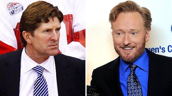 Mike Babcock/Conan O'Brien