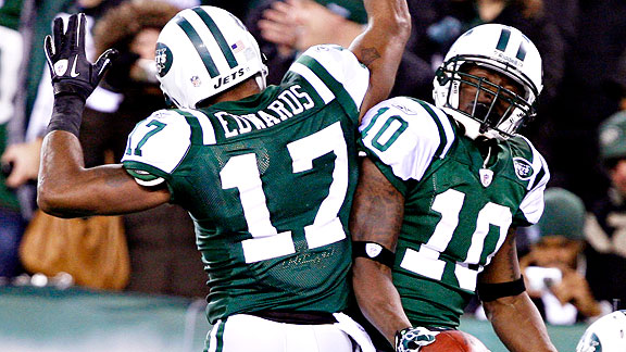 Braylon Edwards and Santonio Holmes