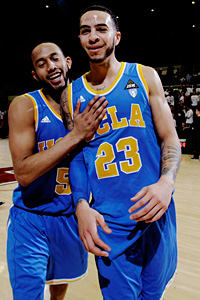 UCLA's Jerime Anderson and Tyler Honeycutt
