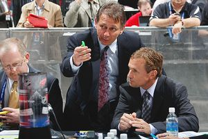 Ken Holland and Steve Yzerman