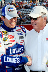 Jimmie Johnson & Rick Hendrick