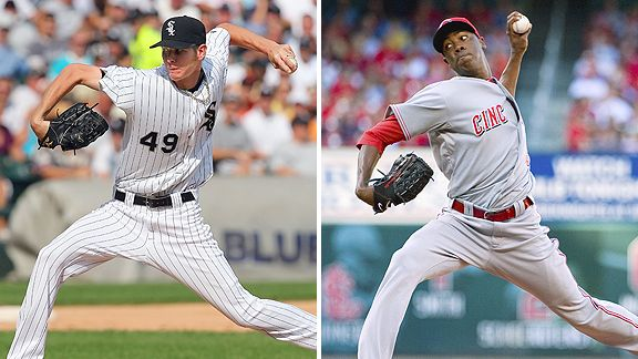 Chris Sale and Aroldis Chapman