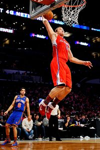 Blake Griffin got his busy All-Star Weekend started by scoring 14 points in the Rookie Challenge.