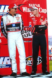 Dale Earnhardt Jr and Senior