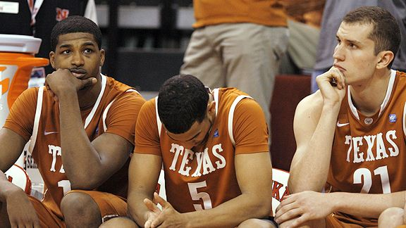 Texas Longhorns lose