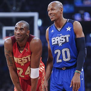 Kobe Bryant & Ray Allen