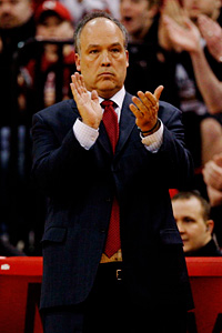 Nebraska coach Doc Sadler