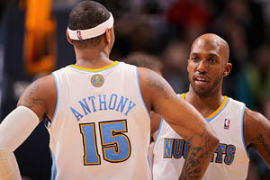 Carmelo Anthony & Chauncey Billups