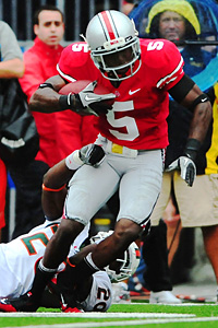 Ohio State Buckeyes defensive back Chimdi Chekwa