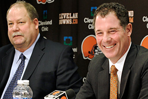 Mike Holmgren and Pat Shurmur