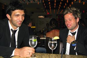 Zaza Pachulia and A.D. Allushi