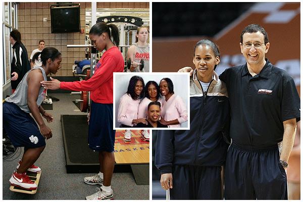 Dayton Athletics Nowadays, Ebony Gainey helps her Dayton teammates and coach ...