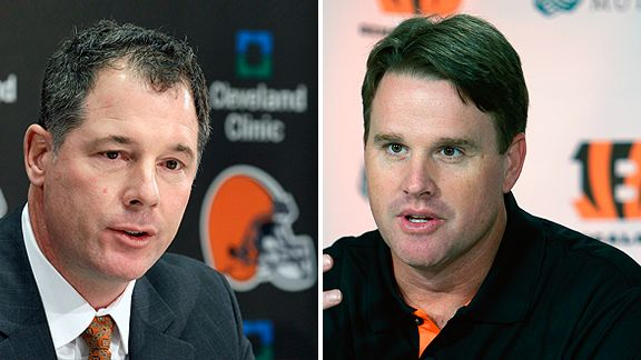 Pat Shurmur and Jay Gruden