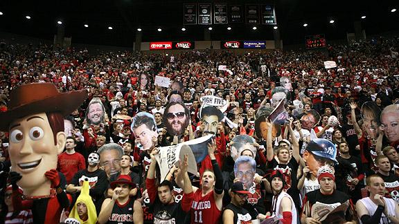 San Diego State fans