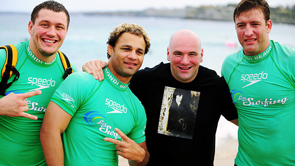 Mitrione, Koscheck, White & Bonnar