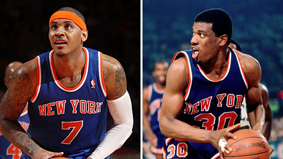 Carmelo Anthony & Bernard King