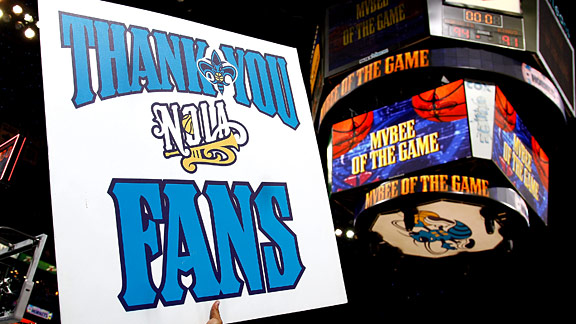 New Orleans Hornets fans