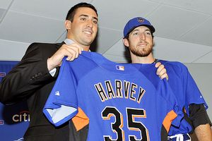 Matt Harvey and Ike Davis