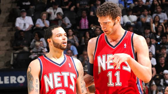 Deron Williams and Brook Lopez