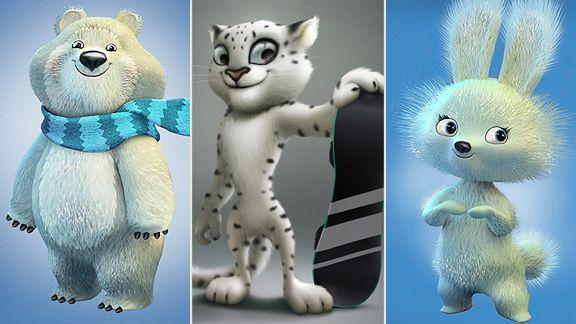 Russian Mascots