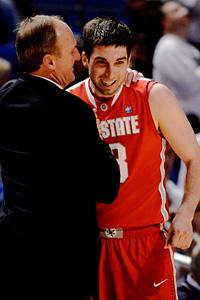 Ohio State's Thad Matta and Jon Diebler