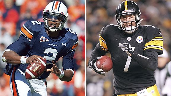 Cam Newton and Ben Roethlisberger