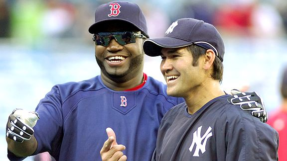 David Ortiz and Johnny Damon