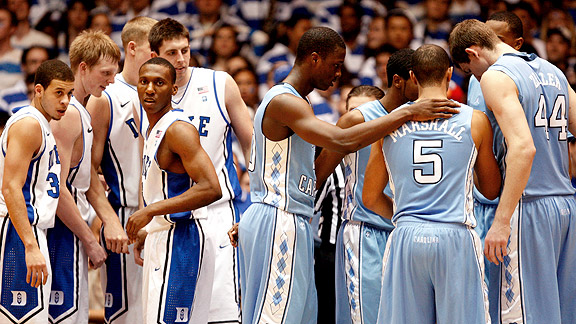 Duke UNC Basketball