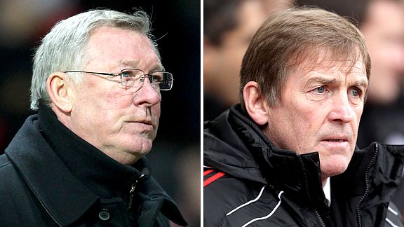Alex Ferguson and Kenny Dalglish
