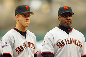 Jeff Kent & Barry Bonds