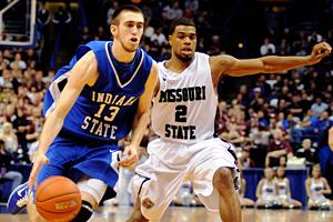 Indiana State's Jake Odum