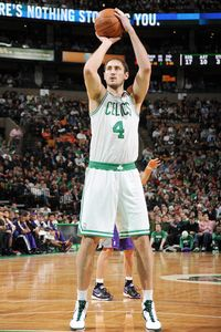 NBAE/Getty The Celtics got good news on center Nenad Krstic Saturday